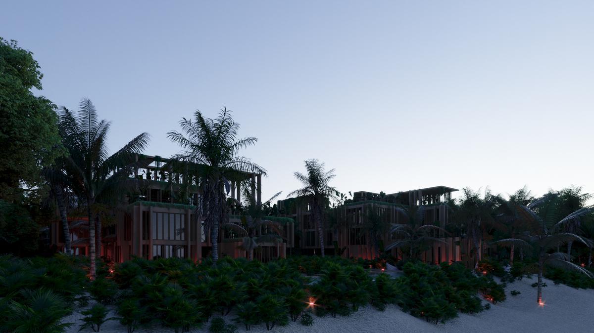 Foto Departamento en Venta en  Tulum ,  Quintana Roo  HERMOSO DEPARTAMENTO - FRENTE AL MAR- EN MEDIO DE LA JUNGLA-AMENIDADES-TULUM