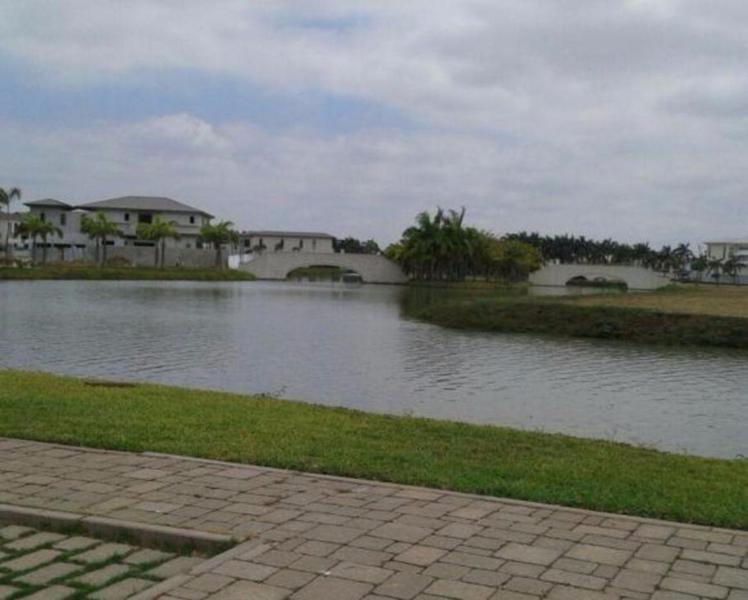 Foto Terreno en Venta en  Samborondón,  Guayaquil  Terrenos de vivienda Venta Samborondon Lagos del Batán con vista al lago
