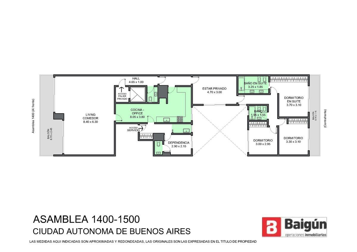 Foto Departamento en Venta en  Caballito ,  Capital Federal  ASAMBLEA al 1400