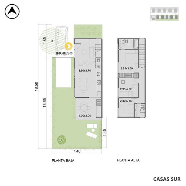 venta casa 3 dormitorios Funes, Los Girasoles 3100. Cod CCO35127 HO3549873 Crestale Propiedades