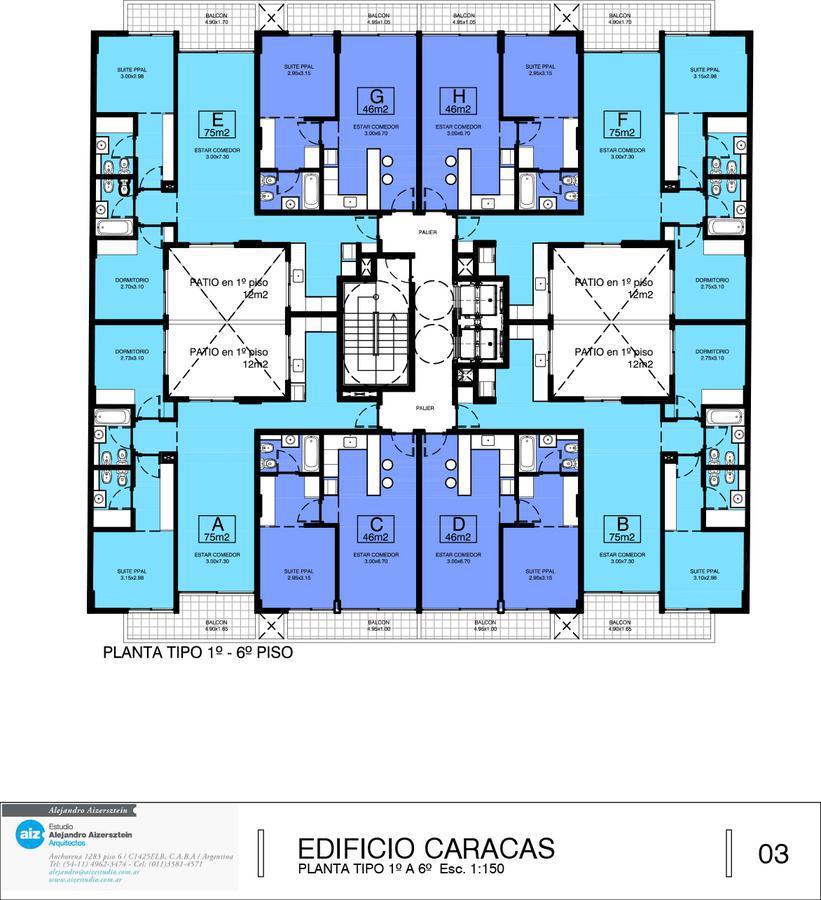 Foto Departamento en Venta en  Flores Norte,  Flores  Caracas 537 1ºC