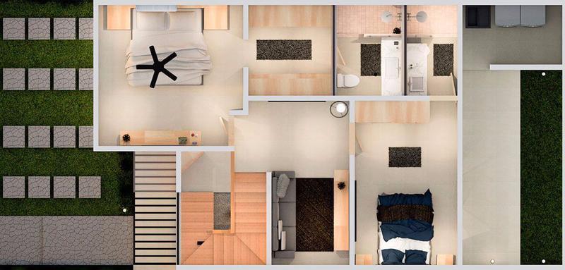 Foto Casa en condominio en Venta en  Aeropuerto Ciudad de Puerto Vallarta,  Puerto Vallarta  Casa cerca del aeropuerto en Vallarta - Modelo Madeira