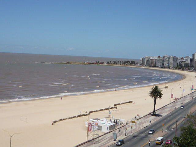 Foto Departamento en Venta en  Pocitos ,  Montevideo  Rambla y Buxareo, piso alto , equipado !!