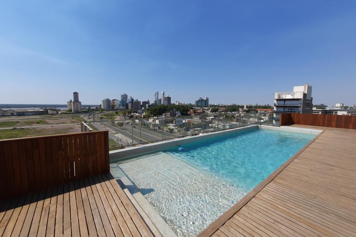 Departamento venta Puerto Norte rio tres dormitorios amenities piscina quincho