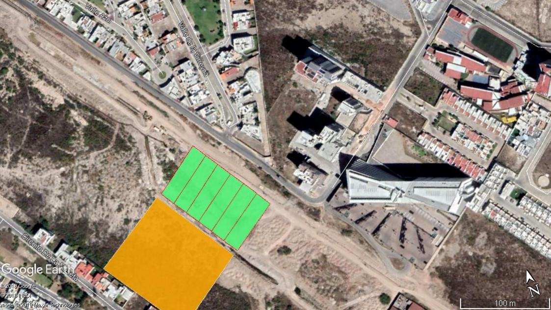 Foto Terreno en Venta en  Lomas del Tecnológico,  San Luis Potosí  TERRENO EN VENTA EN AV SIERRA VISTA