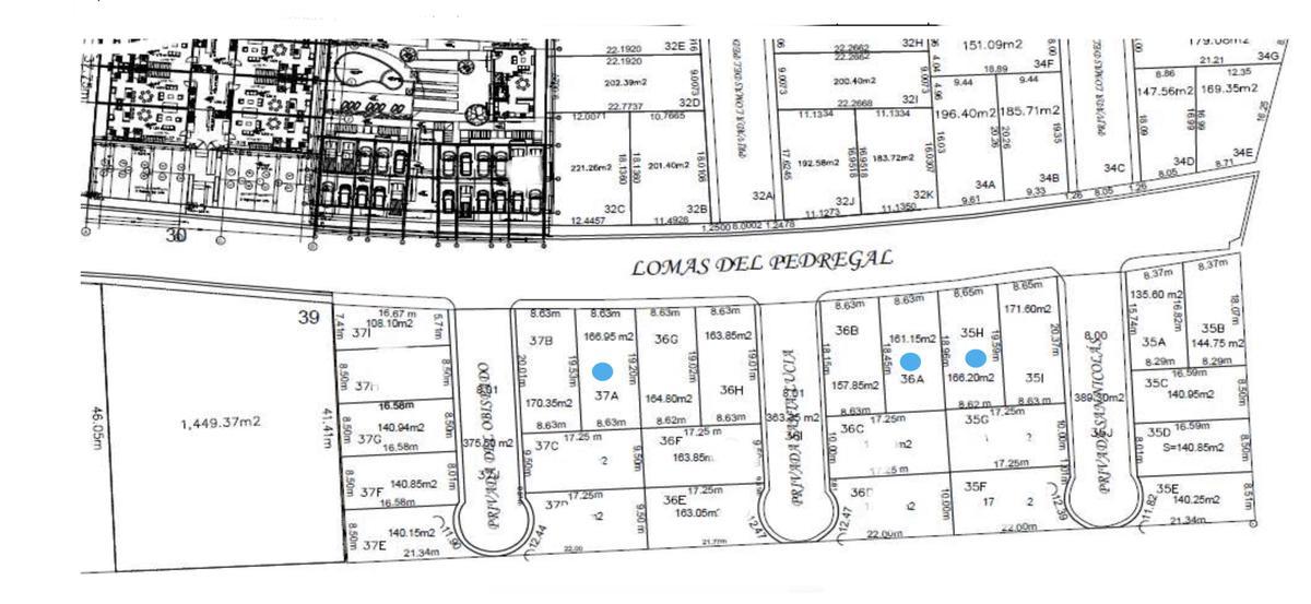 Foto Terreno en Venta en  Residencial Lomas Residencial,  Alvarado  LOMAS RESIDENCIAL, Terrenos en VENTA sobre el Blvd en $4,750 el m2 (IV)