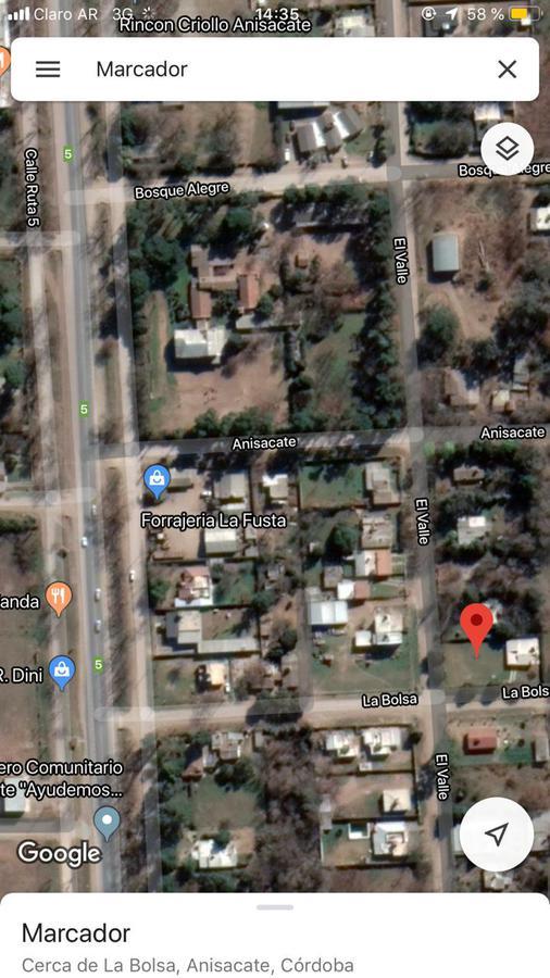 Foto Casa en Venta en  Villa Anisacate,  Santa Maria  SE VENDE HERMOSA CASA EN VILLA ANISACATE, 2 DORMITORIOS CON GRAN PARQUE Y EXCELENTE VISTA