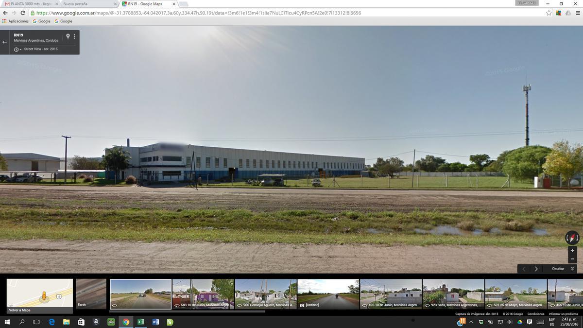 Foto Nave Industrial en Venta | Alquiler en  Malvinas Argentinas,  Colon  Ruta Nac 19 km 12 Malvinas Argentinas, Córdoba, Argentina.