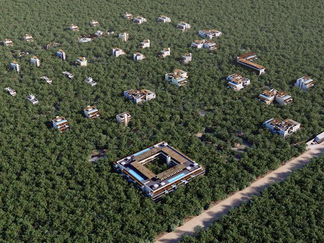 Foto Terreno en Venta en  Tulum ,  Quintana Roo  Terreno EN DESARROLLO RESIDENCIAL  - Amenidades ESPECTACULARES  a SOLO  15 min del Centro de TULUM