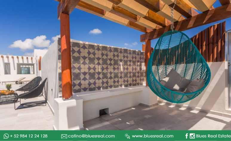 Picture Apartment in Sale in  Playa del Carmen,  Solidaridad  For sale new apartments in Marea 34 in Playa del Carmen | Blues Real | Code 464