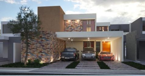 Foto Casa en Venta en  Pueblo Cholul,  Mérida  Casa en Venta en Parque Natura Machiche 159 ¡De dos plantas, piscina y 4 habitaciones!