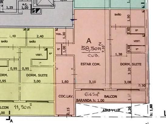 Foto Departamento en Venta en  Barracas ,  Capital Federal  Av. Montes de Oca 1526 - Tipologia A