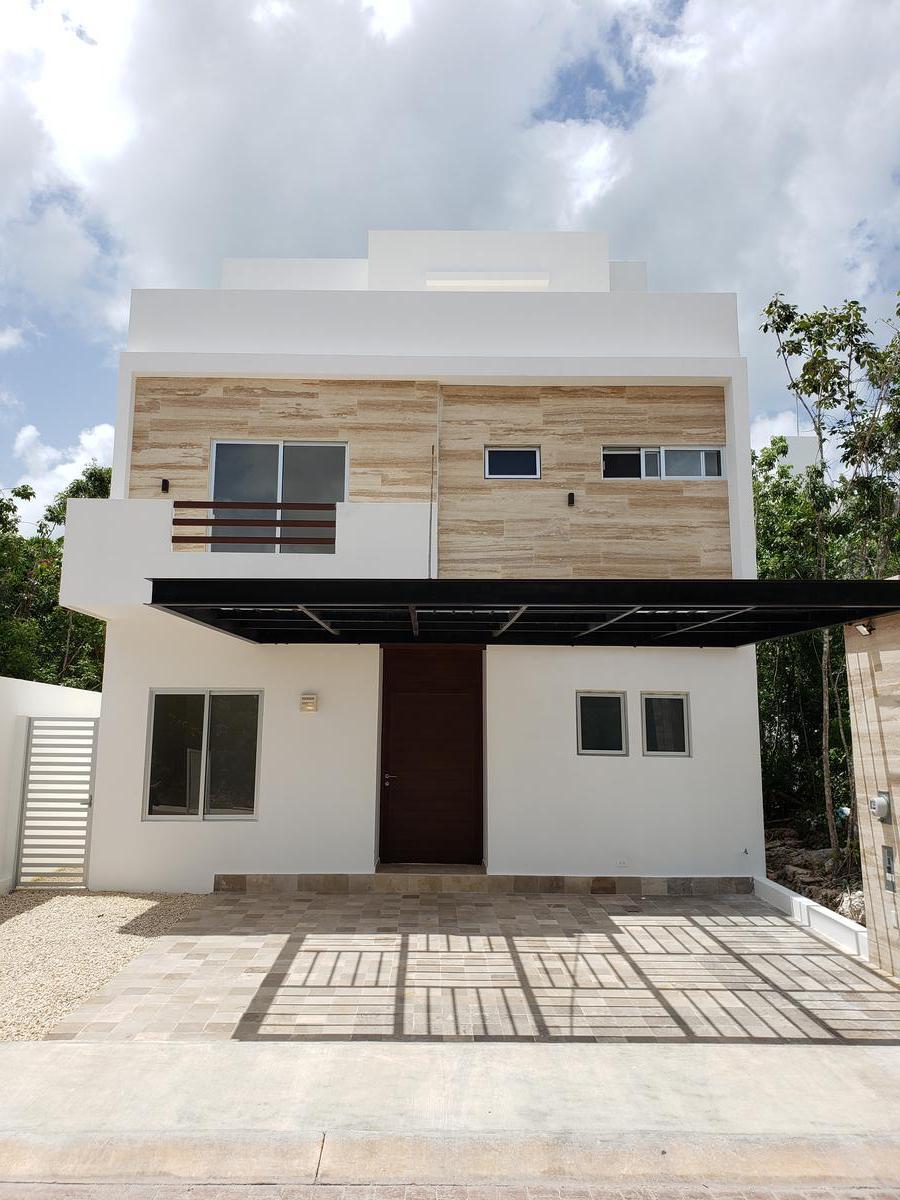 Foto Casa en condominio en Venta en  SM 327,  Cancún  Casa en Venta Cancun Rio by Cumbres, 5 recamaras