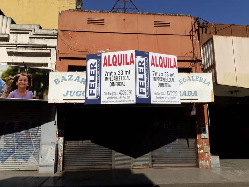 Foto Local en Alquiler en  Centro,  San Miguel De Tucumán  Maipú al 200