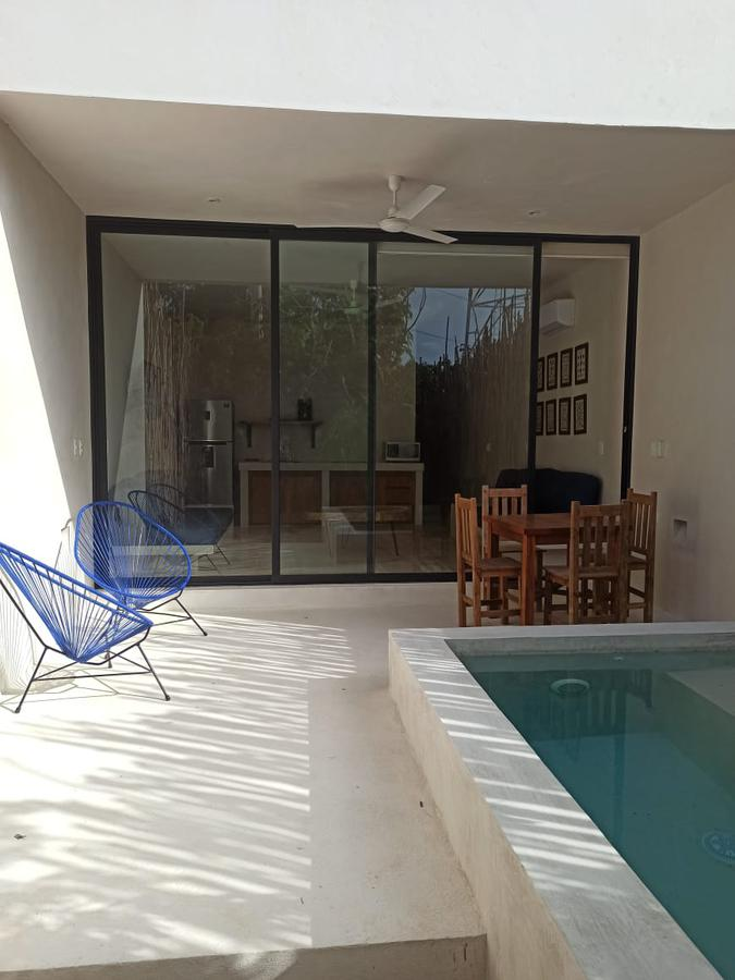 Foto Departamento en Renta | Venta en  La Veleta,  Tulum  Nuevo Depa de 1 rec con piscina y patio privado en Tulum