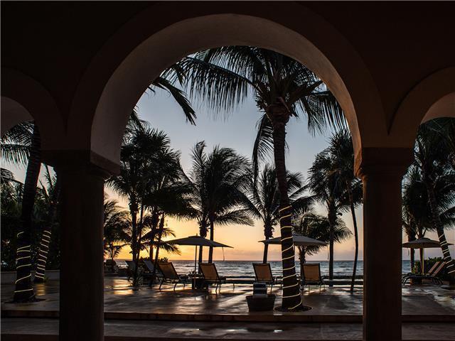 Foto Finca en Renta temporal en  Puerto Aventuras,  Solidaridad  Hacienda 10 Rec. sobre la Playa en renta vacacional