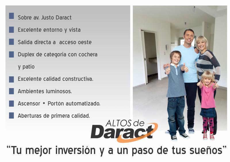 Foto Departamento en Venta en  Centro (Moreno),  Moreno  Altos de Daract - Monoambiente de 1º Piso - Moreno norte - Departamento