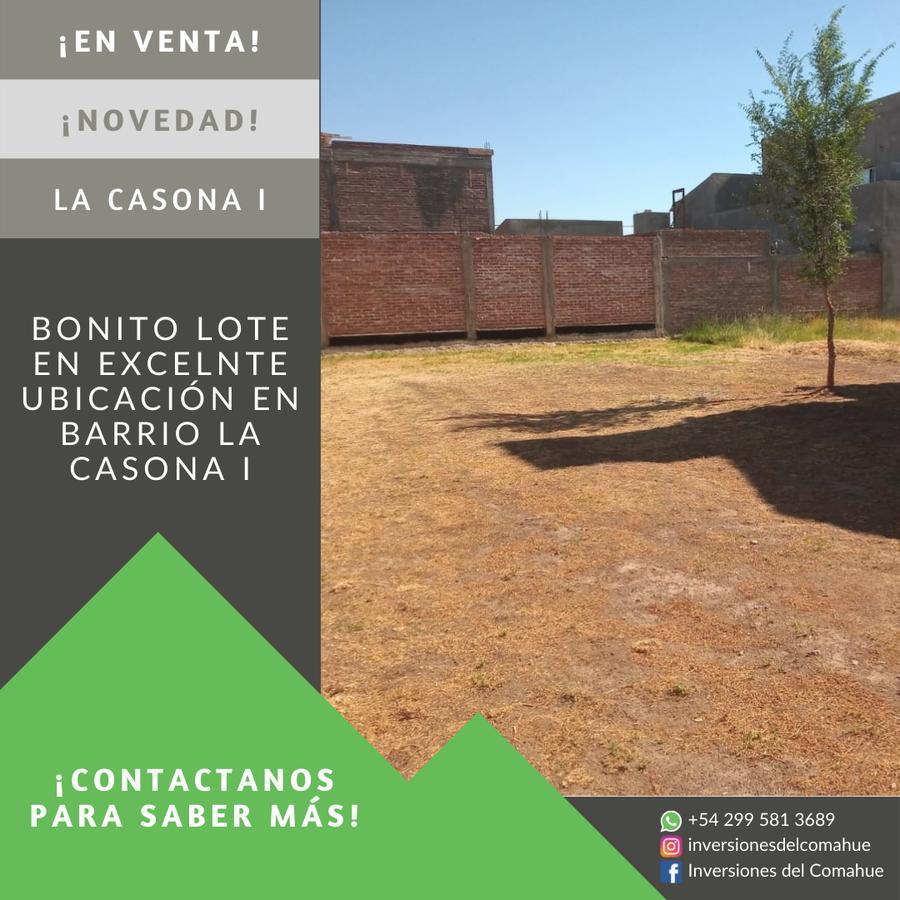 Foto Terreno en Venta en  Plottier,  Confluencia  La Casona II - Percy Clark