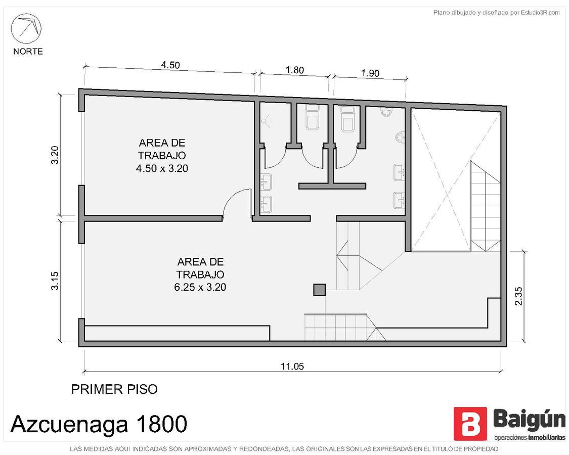 Azcuénaga al 1800