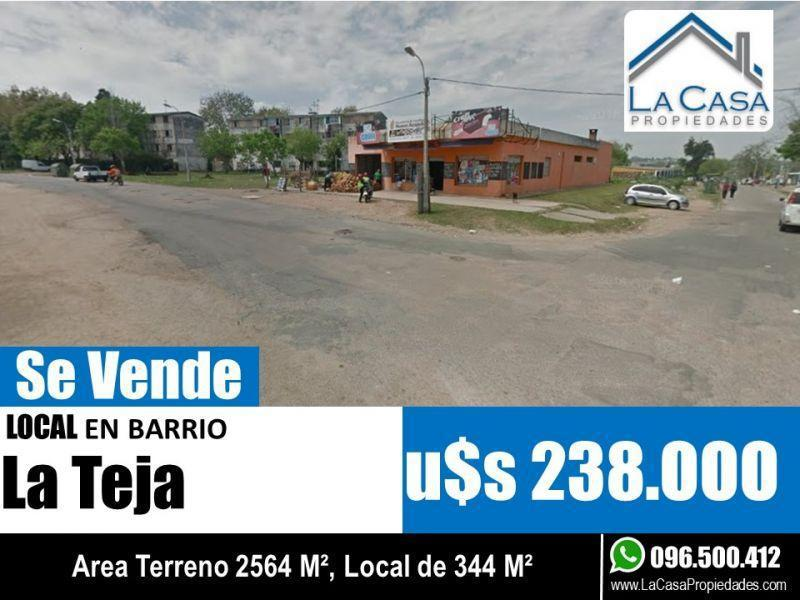 Foto Local en Venta en  La Teja ,  Montevideo  Amaghino 5000