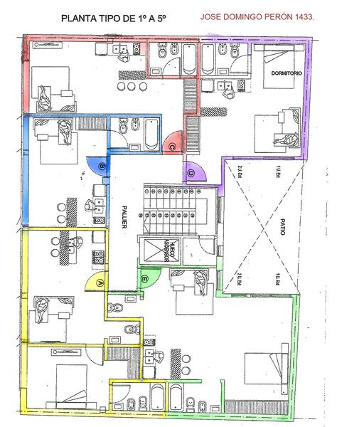 Foto Departamento en Venta en  Tribunales,  Centro  Juan Domingo Peron al 1400