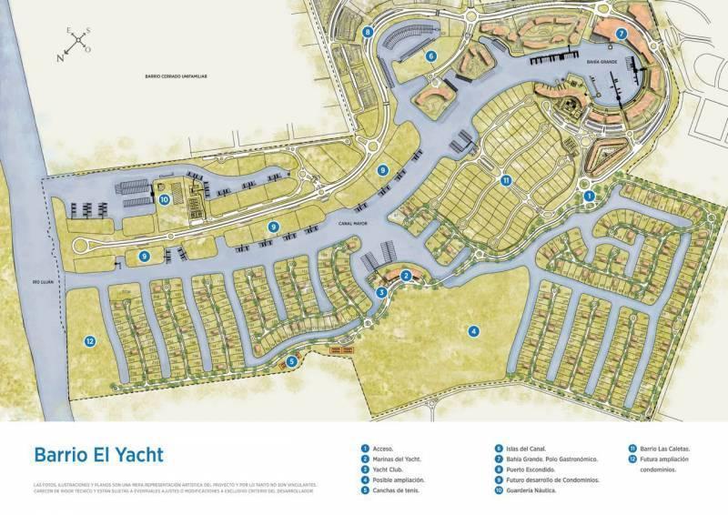 Foto Terreno en Venta en  El Yacht ,  Nordelta  Yacht al 100
