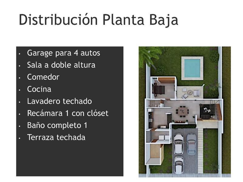 Foto Casa en Venta en  Pueblo Dzitya,  Mérida  CASA 29 NUEVA EN LOMAS NORTE EN DZITYA