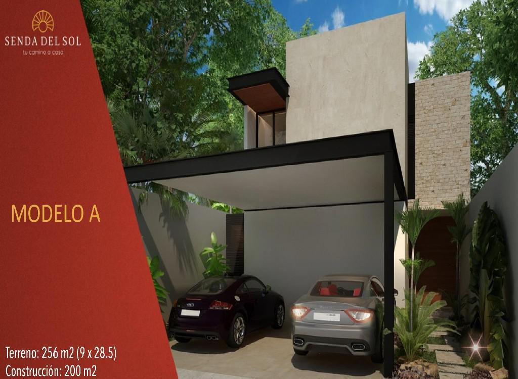 Foto Casa en Venta en  Pueblo Cholul,  Mérida  Casas Senda del Sol en PRIVADA ZENDERA (Mod.A).