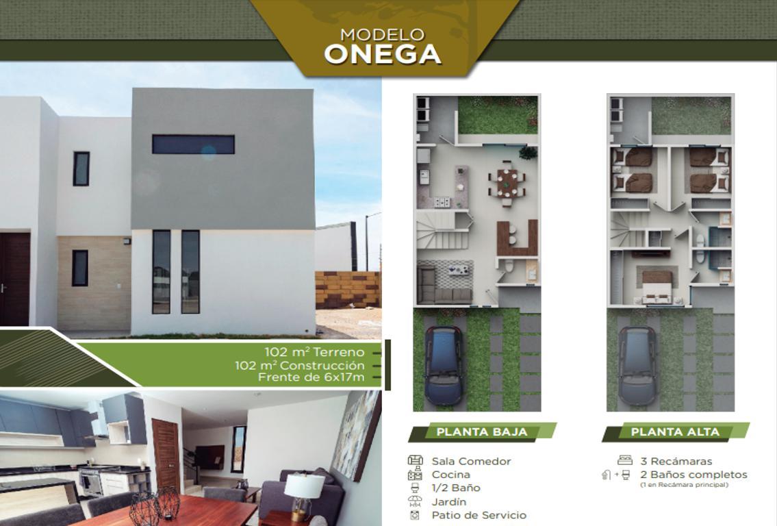 Foto Casa en Venta en  Villa de Pozos,  San Luis Potosí  Casa Onega, L1