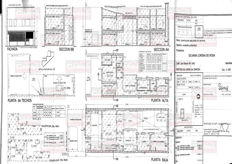 Foto Casa en Venta en  Banfield Oeste,  Banfield  SAN MARTIN 1891