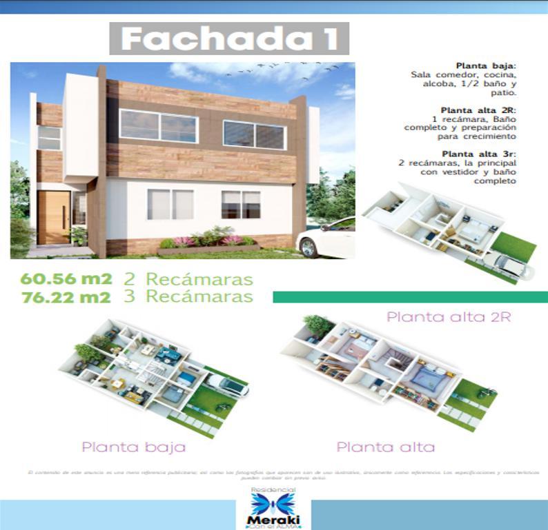 Foto Casa en Venta en  Villa de Pozos,  San Luis Potosí  Montse 2R,  Meraki Residencial