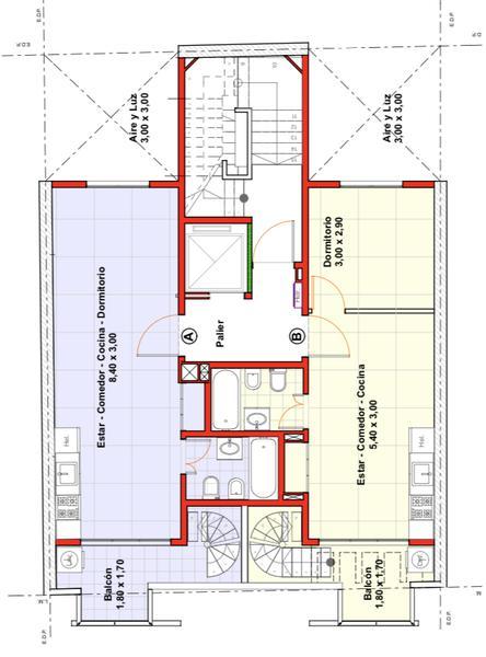 Foto Departamento en Venta en  Paternal ,  Capital Federal   Almte F. J. Seguí al 2000