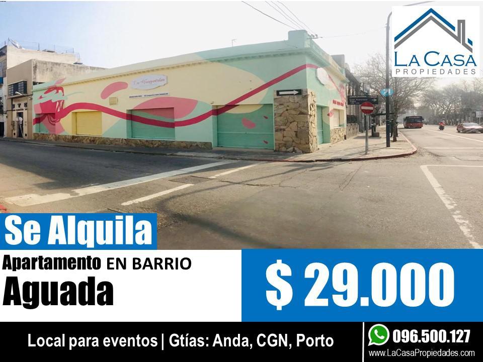 Foto Local en Alquiler en  Aguada ,  Montevideo  Agraciada al 2400