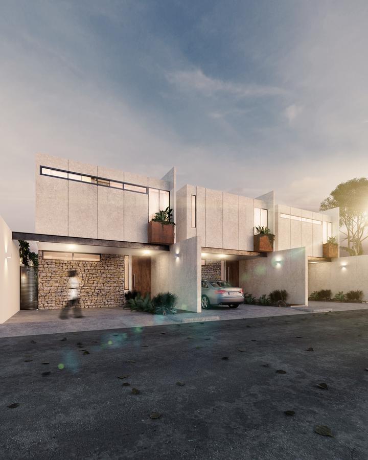 Foto Casa en Venta en  Pueblo Temozon Norte,  Mérida  Casas al norte de Mérida de tres habitaciones, con cuarto de servicio y alberca.