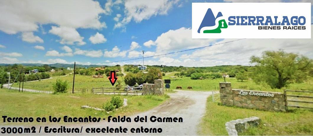 Foto Terreno en Venta en  La Falda Del Carmen,  Santa Maria  Lote en Los Encantos - Falda del Carmen
