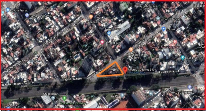 Foto Terreno en Venta en  Villa del Parque ,  Capital Federal  Ricardo Gutierrez  al 3400