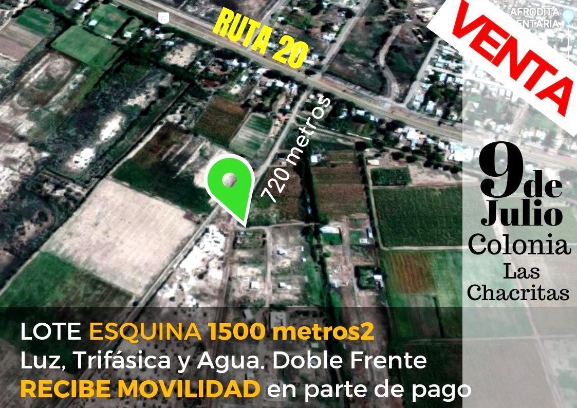 Foto Terreno en Venta en  Chacritas,  9 De Julio  Lote 28, Calle pública s/N°, Colonia Las Chacritas