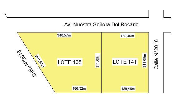 Foto Terreno en Venta en  Rosario ,  Santa Fe  Av. Nuestra Señora del Rosario al 7500