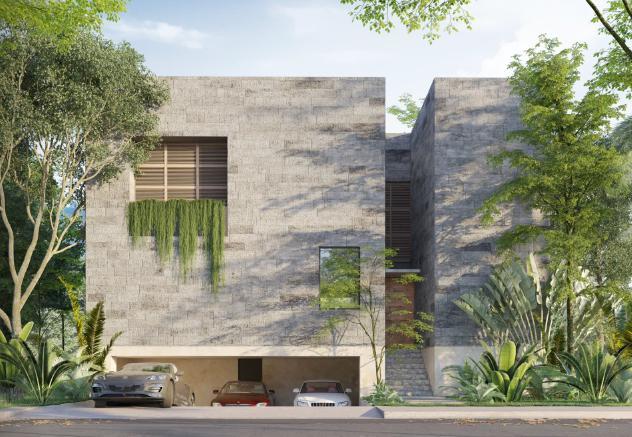 Foto Casa en Venta |  en  Temozon Norte,  Mérida  Venta residencia  3 recámaras en Cabo norte privada Ravenna al norte de Mérida