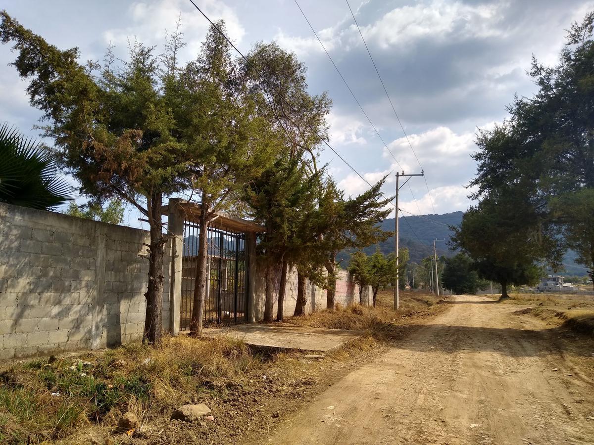 Foto Terreno en Venta en  Tenancingo de Degollado,  Tenancingo  Terreno en Venta, Tenería Tenancingo, Barda, Servicios, Ejido