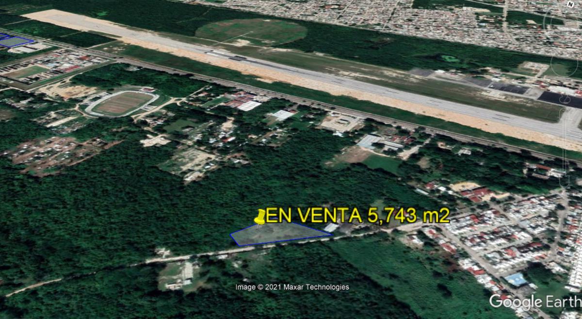 Foto Terreno en Venta en  Chetumal ,  Quintana Roo  A la entrada de Chetumal