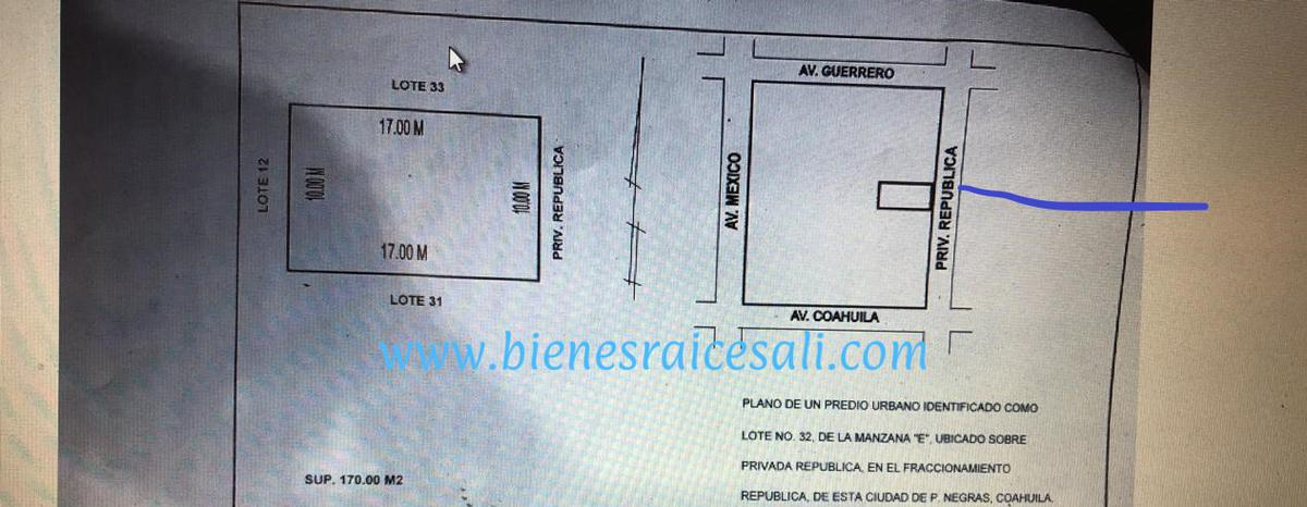 Foto Terreno en Venta en  Piedras Negras ,  Coahuila  REPUBLICA