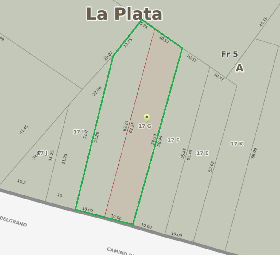 Foto Terreno en Venta en  Manuel B Gonnet,  La Plata  Belgrano e/ 501 y 503