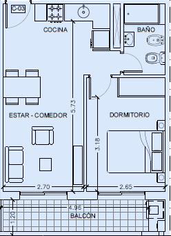 Foto Departamento en Venta en  Luis Agote,  Rosario  Alsina 772
