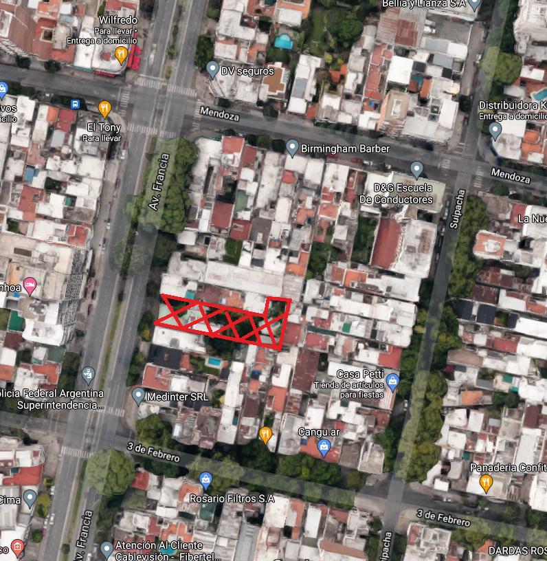 Foto Terreno en Venta en  Rosario,  Rosario  Francia al 1200