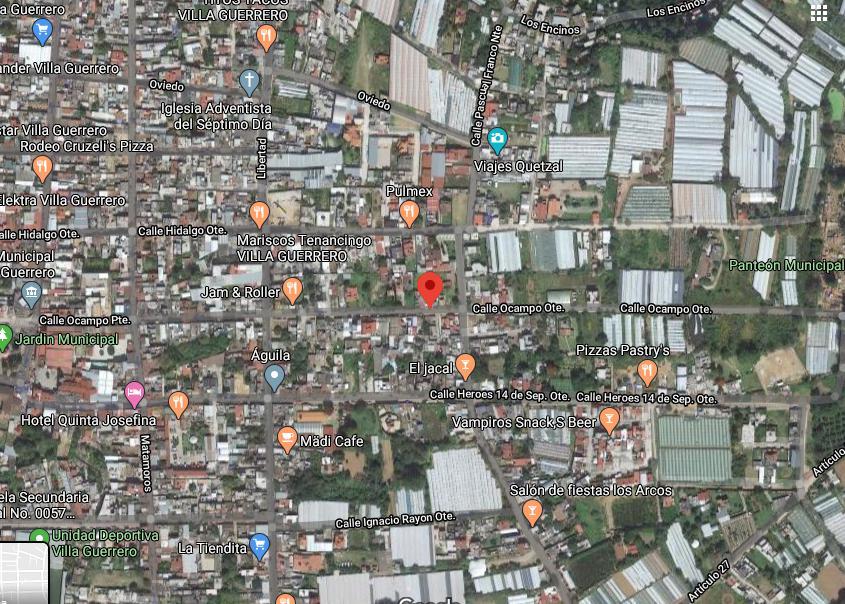 Foto Terreno en Venta en  Villa Guerrero ,  Edo. de México  TERRENO EN VENTA, 410 MT2, VILLA GUERRERO CENTRO, MEXICO