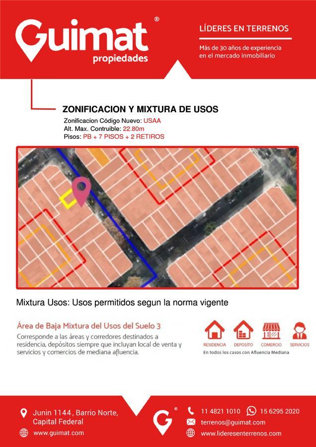 Foto Terreno en Venta en  Villa Crespo ,  Capital Federal  AGUIRRE al 300