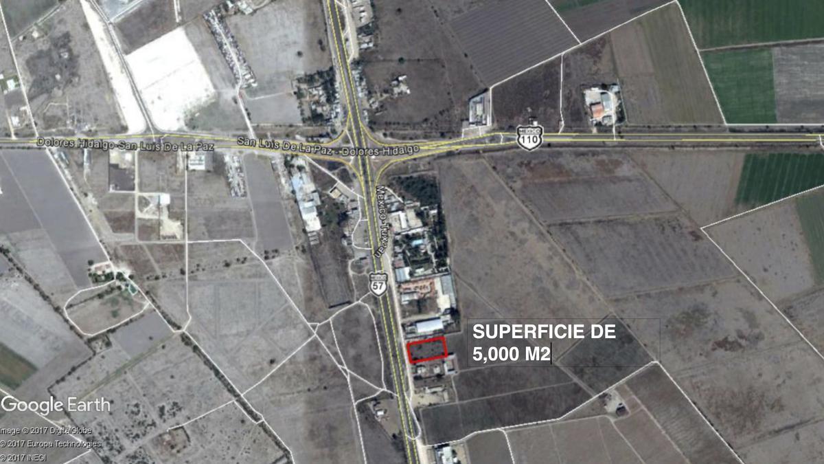 Foto Terreno en Renta en  San Luis Potosí ,  San luis Potosí  TERRENO EN RENTA EN ENTRONQUE A SAN LUIS DE LA PAZ, CARRETERA 57, SAN LUIS POTOSI