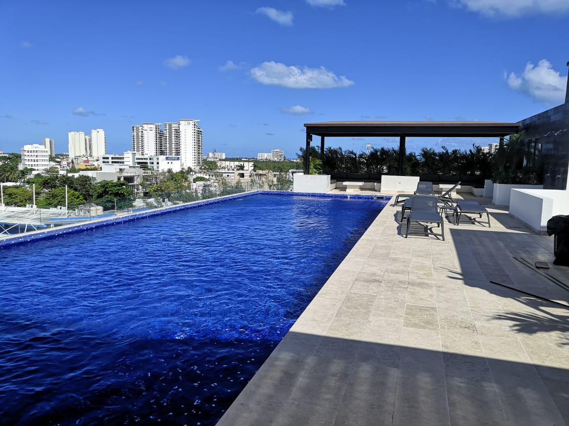 Foto Departamento en Renta en  Supermanzana 2a Centro,  Cancún  DEPARTAMENTO EN RENTA EN CANCUN EN RESIDENCIAL PANAMERO EN SM 2a