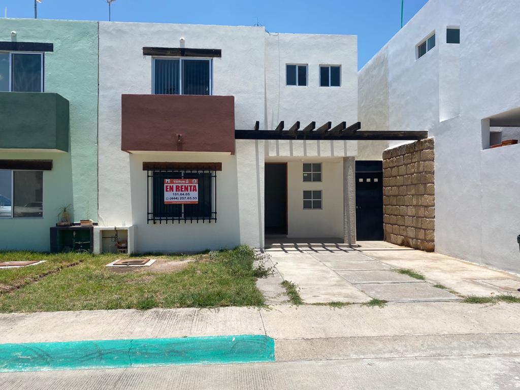 Foto Casa en Renta en  Orquídea,  San Luis Potosí  CASA EN RENTA EN RESIDENCIAL ORQUIDEA CERCA A ZONA INDUSTRIAL